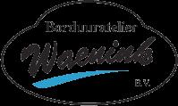 Het logo van borduuratelier Waenink